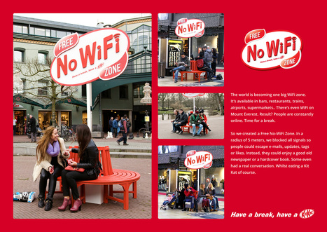 Kit Kat Free No WiFi Zone | Marketing in Motion | Scoop.it