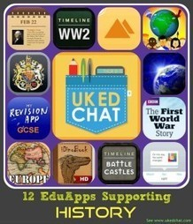 Apps to support History Teaching | UKEdChat.com - Supporting the #UKEdChat Education Community | Links from #ukedchat sessions | Scoop.it
