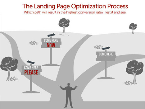 The Landing Page Optimization - Infographic | Beyond Marketing | Scoop.it