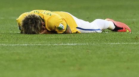 Mundial 2014: Neymar no falló y acabó entre lágrimas - MARCA.com | FC Barcelona world | Scoop.it