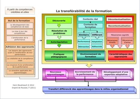 Le transfert des apprentissages : Étape 4 de l'approche par compétences   Globalité et morcellement   Scoop.it