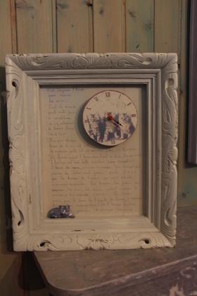 [Coup de ♥] Cadre horloge vintage par Jackgyver sur le #CDB | Best of coin des bricoleurs | Scoop.it