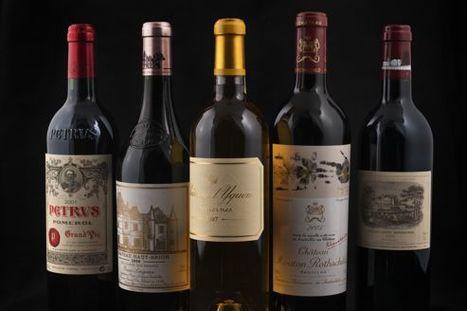 Le vin, un placement à consommer avec modération - Le Figaro   Oenologie & Viticulture   Scoop.it
