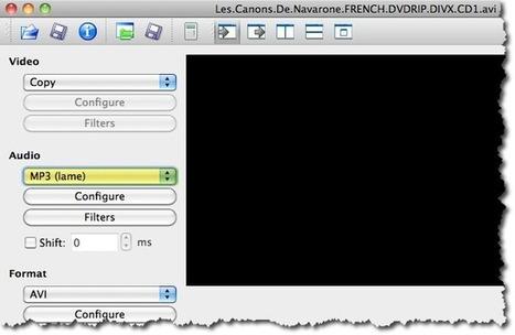 Coller 2 fichiers vidéo avec AviDemux. | Time to Learn | Scoop.it