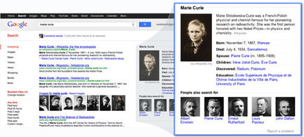 Google Knowledge Graph, des informations à économies de clic | LdS Innovation | Scoop.it