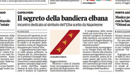 Il segreto della bandiera elbana | Gazzetta Elbana | Scoop.it