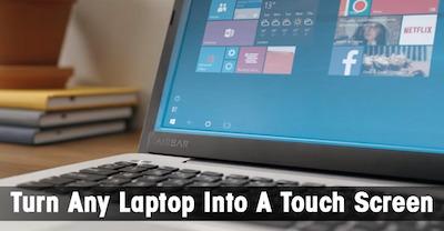 AirBar: Maak van elke beeldscherm een touch screen   BlokBoek e-zine   Scoop.it
