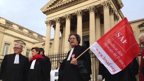 Les avocats de Montpellier se mobilisent encore contre le projet de ... - Francetv info   Droit et Justice   Scoop.it