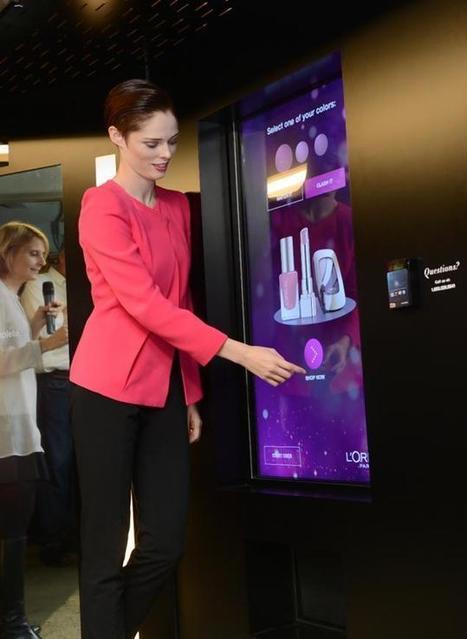 Influencia - Audace - Le distributeur automatique de L'Oréal à New-York   Quand E-xperience rime avec vente   Scoop.it