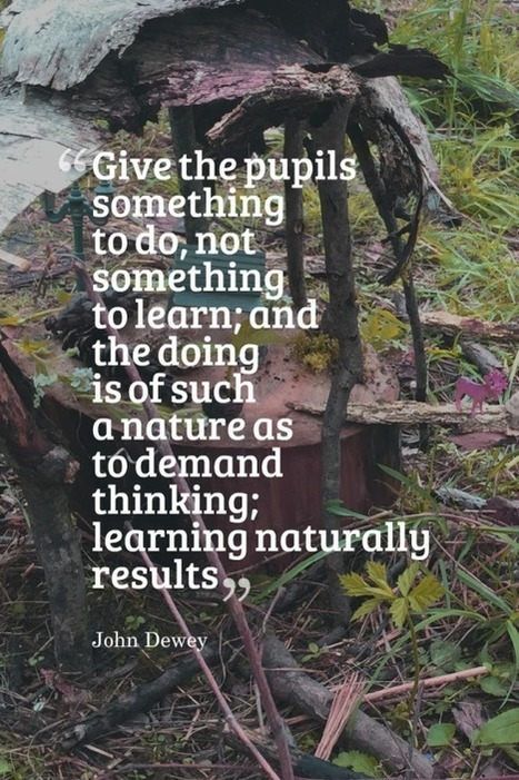 Inspired Professional Learning in and with Nature | Outdoor Early Learning | Scoop.it