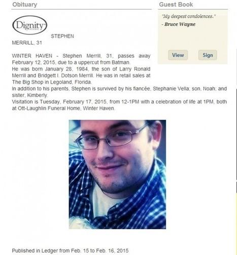Batman tue un fan de comics avec un uppercut ! | And Geek for All | Scoop.it