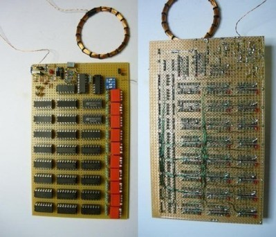 Configurable RFID tag from 7400 logic chips | Hackaday | Scoop.it