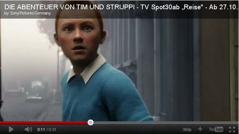 New Tintin Teaser Shows Off Motion Capture Magic | Transmedia: Storytelling for the Digital Age | Scoop.it