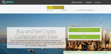 US-based exchange Crypto Street supports Bitcoin, Litecoin and Feathercoin: Namecoin and Primecoin are next | Bitcoin and other Digital Currency Payments | Scoop.it