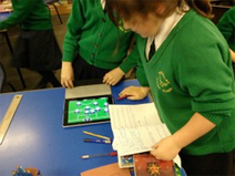 Using iPads and Football to encourage reluctant boys to write - Innovate My School | Ipads in the Maths Classroom | Scoop.it