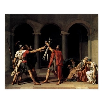 The Oath of the Horatii | Ancient history | Scoop.it