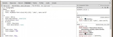 Tutoriel vidéo Google Chrome : Chrome & SASS | Ma veille technos web | Scoop.it