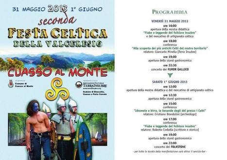 Nel weekend torna la Festa Celtica della Valceresio a Cuasso al Monte (VA)   DoWeekEnd   Scoop.it