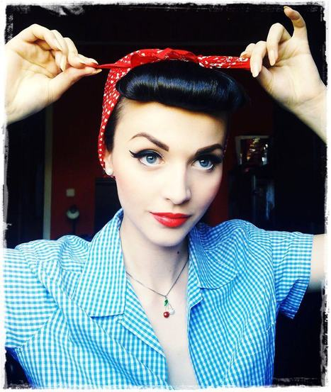 Rockabilly Girls Style: Gallery 35 | Vulbus Incognita Magazine | Scoop.it