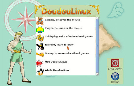 DoudouLinux : une distribution Linux pour la maternelle | Time to Learn | Scoop.it