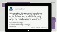 How to Decide When to Use SharePoint and Yammer and Office 365 Groups and Outlook and Skype (Channel 9) | SharePoint Nice to Know | Scoop.it