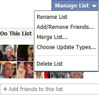 How To Edit Facebook's New Friend Lists | The Trinity of Social Media and How it Affects You | Scoop.it