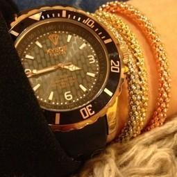 BIG, OVERSIZED BOYFRIEND WATCH | Kyboe USA - Kyboe USA - Bigger is Better with Kyboe! | latest women fashion watches | Scoop.it