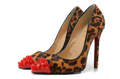 Christian Louboutin Geo Pump Leopard High Heels 120mm [geo-pump-003] - $133.00 : Hello Kitty Bags For Ladies, Anteprima Bags Style Stereo Hello Kitty bags , my melody bags ,rhinestone bags | christian louboutin pumps fashion | Scoop.it