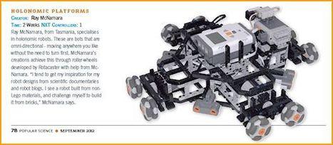 Holonomic Platforms make it into Print from Ray McNamara | Classroom-robotics | Scoop.it
