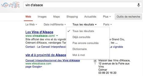 Effectuer des recherches Google uniquement sur des pages jamais visitées - Actualité Abondance   Freewares   Scoop.it