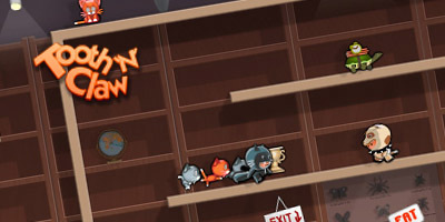 Tooth'N'Claw - Code and Visual's latest Flash game launches on MiniClip | Everything about Flash | Scoop.it