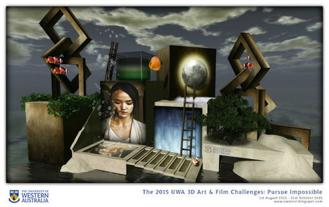 The University of Western Australia (UWA) in Second Life: PURSUE IMPOSSIBLE: Launch of UWA 3D Art & Film Challenges 2015 | Mundos Virtuales, Educacion Conectada y Aprendizaje de Lenguas | Scoop.it