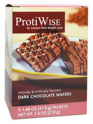 ProtiWise - Dark Chocolate Protein Wafers | Diet Suppliment | Scoop.it