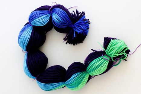 flax & twine: Making Pompoms in Bulk | Ecological Organic Yarn | Scoop.it