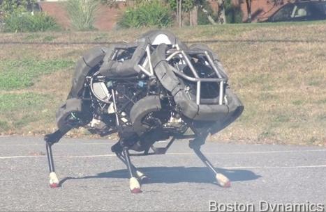 WildCat : vidéo du robot guépard qui atteint 25 km/h | Post-Sapiens, les êtres technologiques | Scoop.it