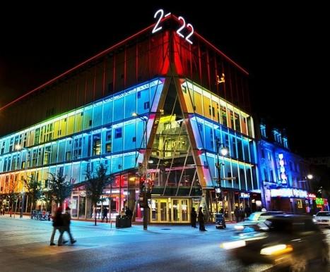 Luminous Pathway | Quartier des spectacles | Digital soul for a building | Scoop.it