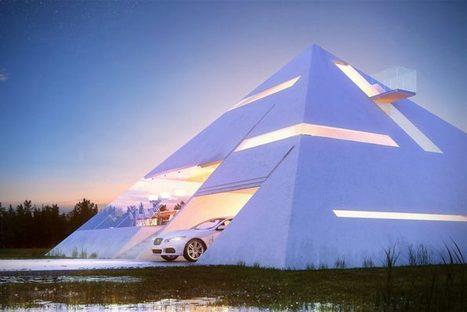 La maison pyramide de Juan Carlos Ramos   Arkko   Scoop.it