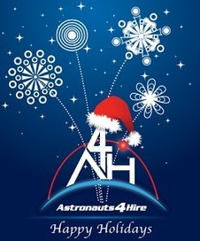 Astronauts4Hire: Happy Holidays from A4H | Space And Beyond 2012 | Scoop.it