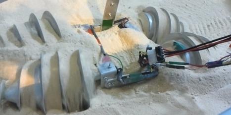 Le robot-taupe qui s'enfouit sous la terre | Post-Sapiens, les êtres technologiques | Scoop.it