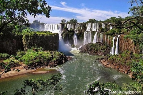 Brazil & Argentina Border Iguazu Falls   The Best Places in the World to Travel   Scoop.it