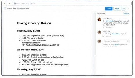 Dropbox announces new commenting feature for the Web app | Ed Tech Chatter | Scoop.it