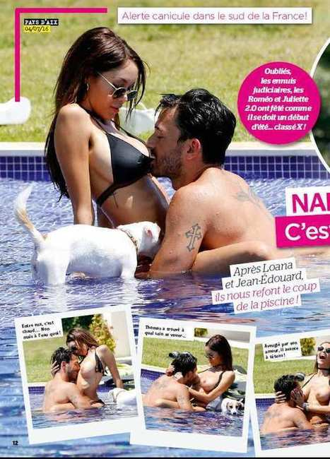 Photos : Nabilla sein nus avec Thomas qui la tripote dans Public | Radio Planète-Eléa | Scoop.it
