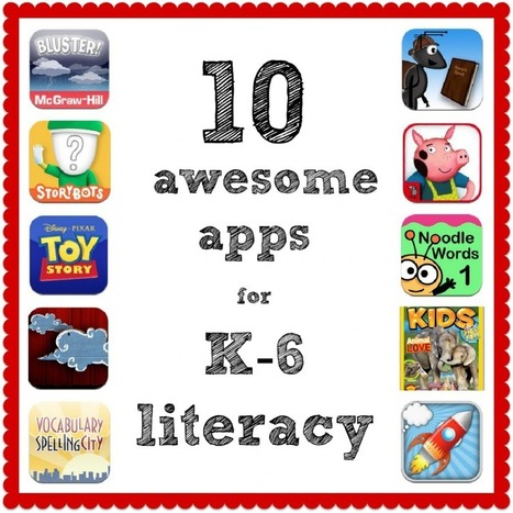 10 awesome apps for K-6 literacy - The Cornerstone | Literacy resources for Australian Curriculum | Scoop.it