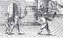 Le jeu de paume, grand ancêtre du tennis ... - Le blog de philippe poisson | GenealoNet | Scoop.it