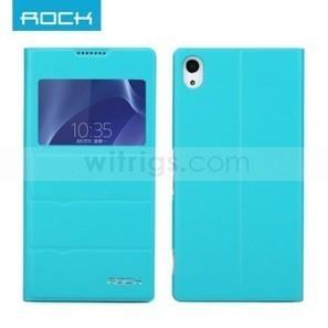 Rock Sony Xperia Z2 Window Case for Blue | Sony Xperia Z1 Z2 Z1C Cover Case | Scoop.it
