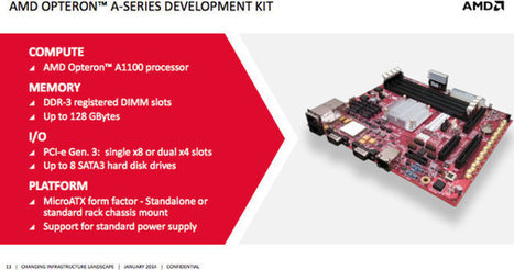 AMD Announces Availability of their $3,000 Opteron A1100-Series 64-bit ARM Development Kit | Embedded Systems News | Scoop.it