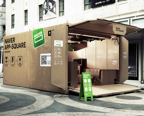 Pop-up : An Awesome App-liance Of Cardboard! | Retail Design Review | Scoop.it