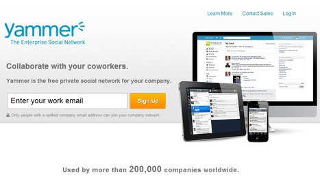 Yammer : The Enterprise Social Network | Time to Learn | Scoop.it