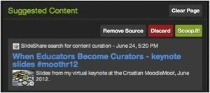 Curation: Scoop those slides! Scoop.it | 21st Century Literacy and Learning | Scoop.it