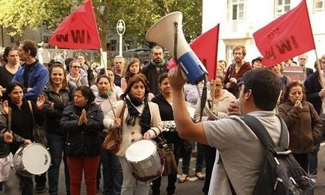 The University of London cleaners fighting for their rights | Aditya ... | London Babes | Scoop.it